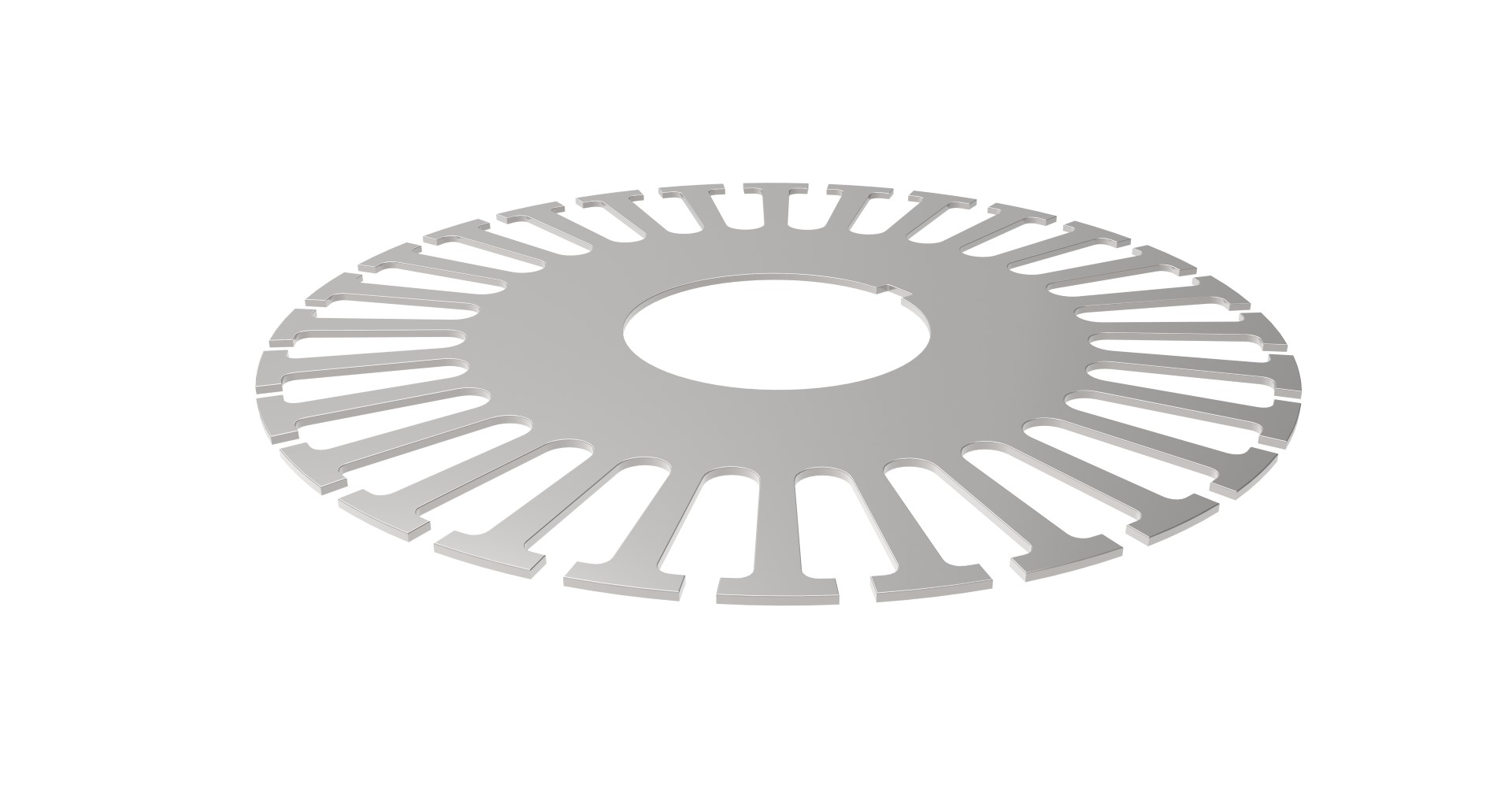 Precision Stamped Rotor Laminate